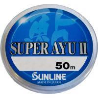 Ліска Sunline Super Ayu II 50м HG #0,35 0.098мм 0,86кг (1658.03.41)