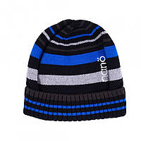Демисезонная шапка  для мальчика  NANO 202 TUT F16 Dark Water.  Р-р  5/6х и 7/12.