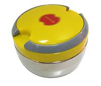 Термос для еды 700 мл 2 отделения ланч-бокс пищевой