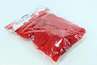 Искусственные тканевые лепестки роз красные, 150 шт./уп.