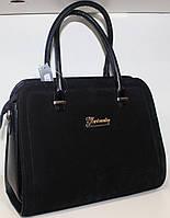 Сумка Женская замша+экко кожа Fashion 17-1425-5