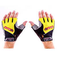 Перчатки для фитнеса Knigh Thood CNKT-18 (желтый)