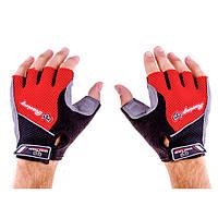 Перчатки для фитнеса Knigh Thood CNKT-18 (красный)