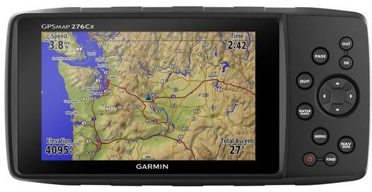 Туристичний GPS-навігатор Garmin GPSMAP 276Cx