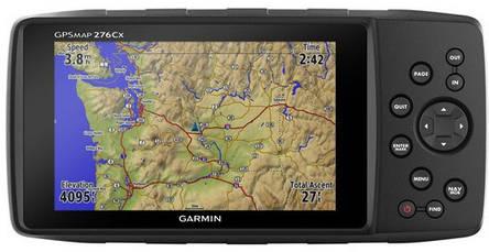 Туристичний GPS-навігатор Garmin GPSMAP 276Cx, фото 2