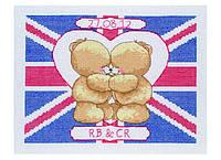 """Набор для вышивания """"Британский флаг (Union Jack Wedding Celebration)"""" ANCHOR"""