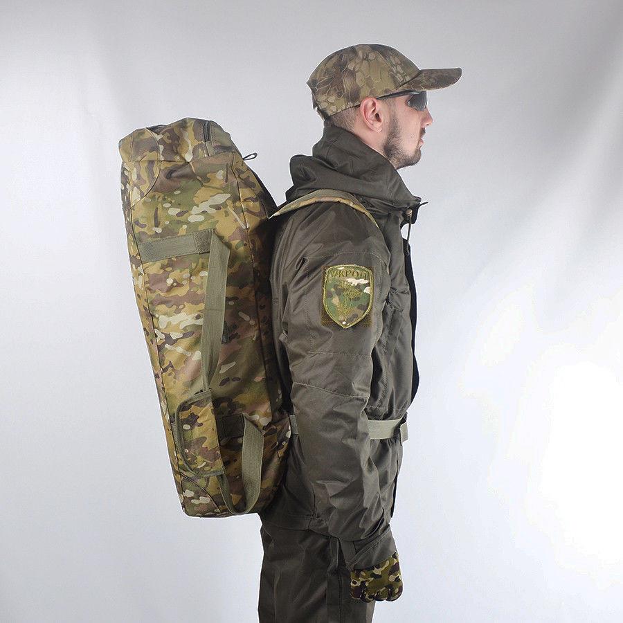 Сумка-рюкзак камуфльований