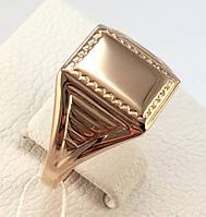 Перстень мужской золотой, 583 проба, СССР