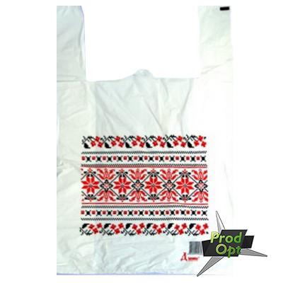 Пакет майка орнамент 30*50 200 шт
