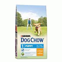 Dog Chow Puppy Chicken & Rice 14 кг Сухой корм для щенков с курицей и рисом