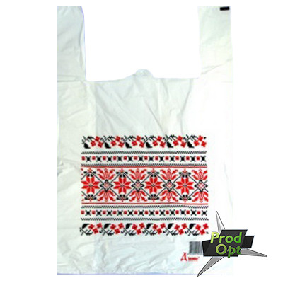 Пакет майка орнамент 40*60 100 шт