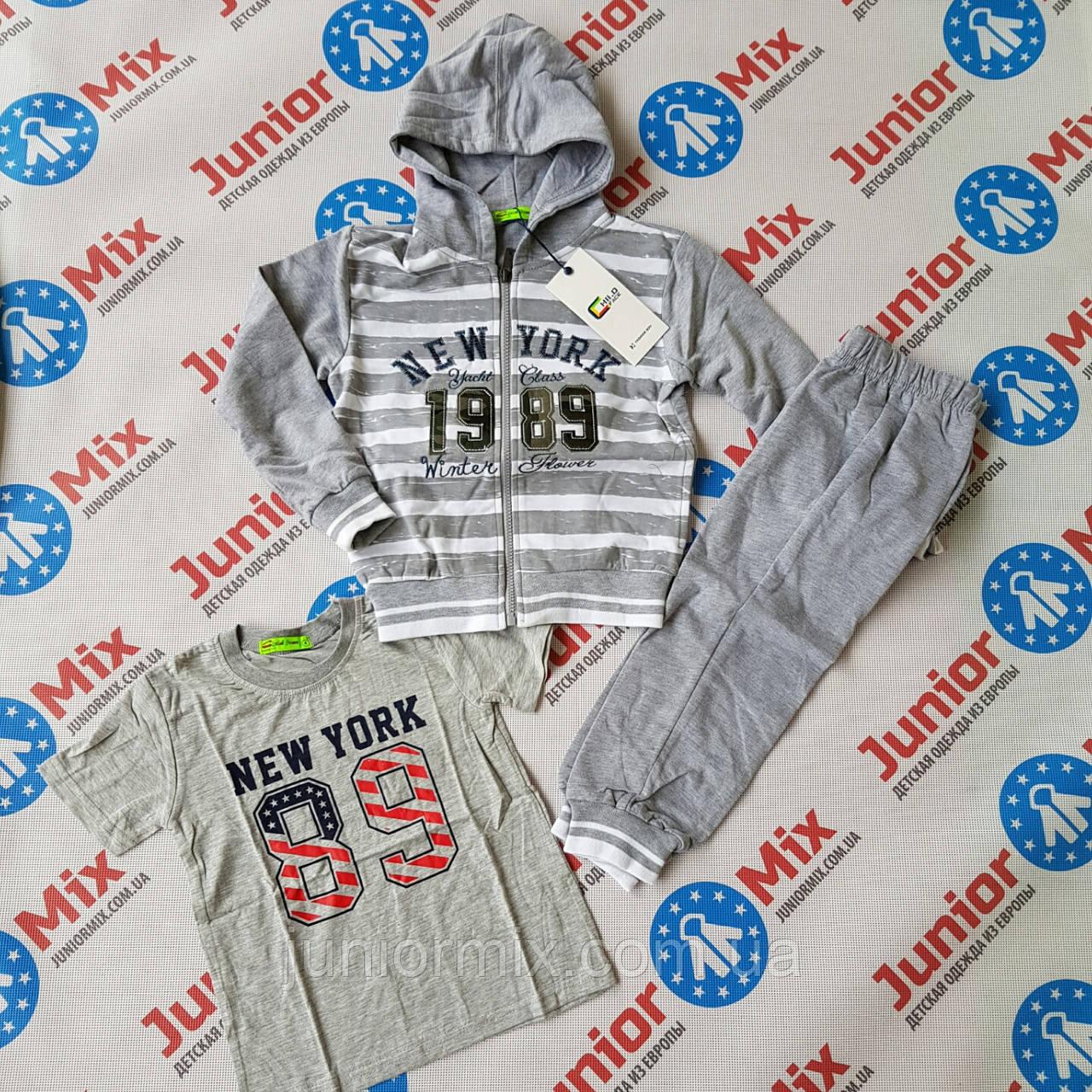 Трикотажный спортивный костюм для мальчика тройка CHII.D  FACE