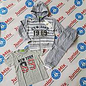 Трикотажний спортивний костюм трійка для хлопчика CHII.D FACE