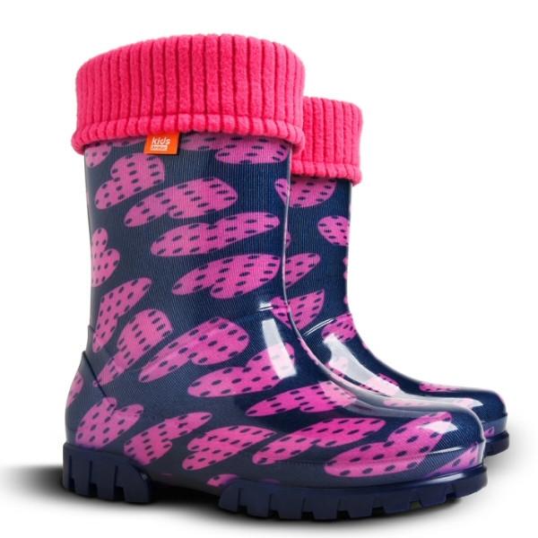 Гумові чоботи TWISTER LUX V DEMAR для дівчаток   продажа 30942b51538fa