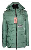 Куртка демисезонная 10-86 - мята: 42,44,46,48,50,52,54,56
