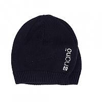 Демисезонная шапка  для мальчика  NANO 200 TUT F16 Black.  Р-р  5/6х и 7/12.