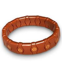 Турманієвий браслет Nuga medical (28 ланок М-9)