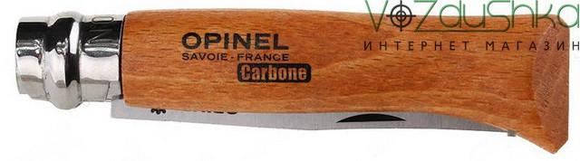 Нож Opinel 6 VRN Carbone (113060)