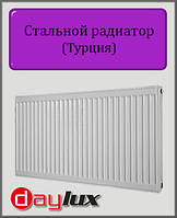 Стальной радиатор Daylux 600х1800 11 типа боковое подключение