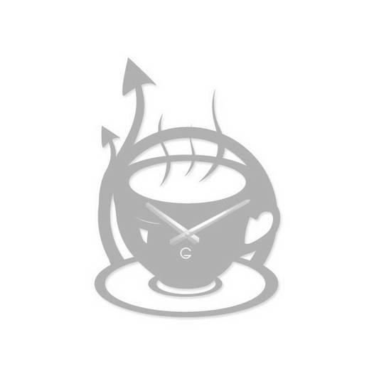 Часы На Стену (45смх32см) Morning Белые [Акрил, Открытые]