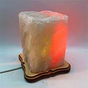 Соляная лампа Прямоугольник резной