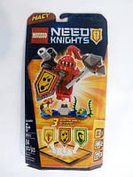 Лего нексо найтс мейси macy nexo knights лицар з булавою і сила щитом