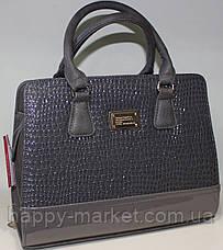 Сумка женская стильная классическая каркасная Fashion 553001-23, фото 3