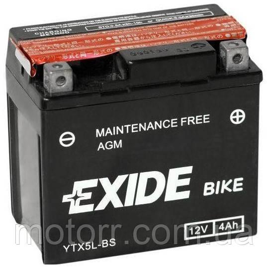 Аккумулятор Exide YTX5L-BS