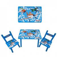 Столик со стульчиками литачки