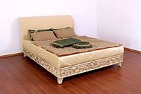 """Кровать двуспальная классическая из дерева """"Натали"""""""