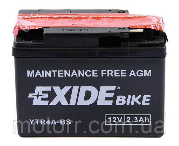 Аккумулятор Exide YTR4A-BS
