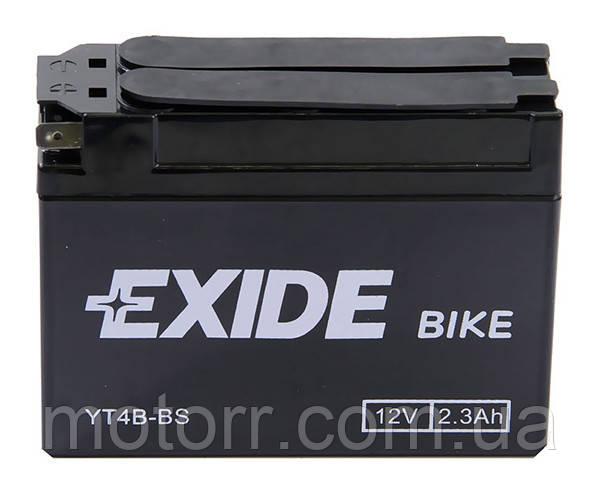 Аккумулятор Exide YT4B-BS