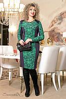 Весеннее платье женское большого размера
