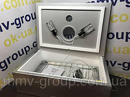 Инкубатор для яиц Наседка ИБ-70 (Метал) , электромеханический регулятор температуры, Мех переворот, 70 яиц