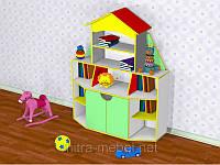Стенка для детского сада Книжный дом