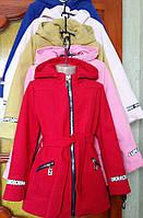 Стильное пальто для девочек в расцветках 11481