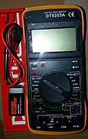 Мультиметр Тестер цифровой DT-9205А