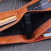 Мужской кошелек 100$ Black, фото 5