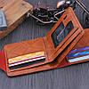 Мужской кошелек 100$ Black, фото 6