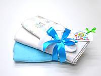 Подарочный набор (пеленки, носочки)