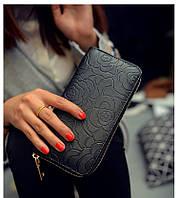 Женский кошелек в стиле Шанель черный