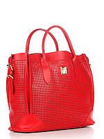 Женская большая сумка из натуральной кожи