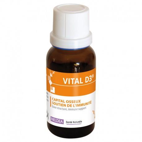 Ineldea Витал-D3 - крепость костей, поддержка иммунитета Sante Naturelle,20мл