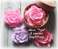 "Мыло  ""Роза"" в коробке, фото 1"