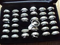 Кольца с молитвой Отче наш серебро