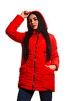 Женская куртка К-015 Красный