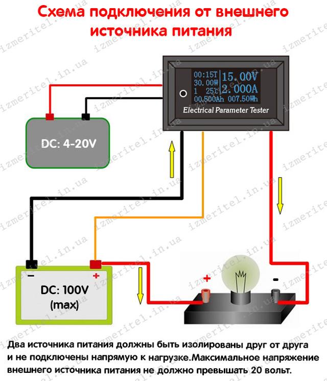 Цифровой многофункциональный тестер 7 в 1 с OLED-дисплеем