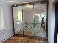 Зеркальные двери для шкафа-купе в Днепропетровске