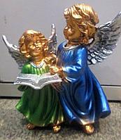 Статуэтка Два ангела с книгой цветные