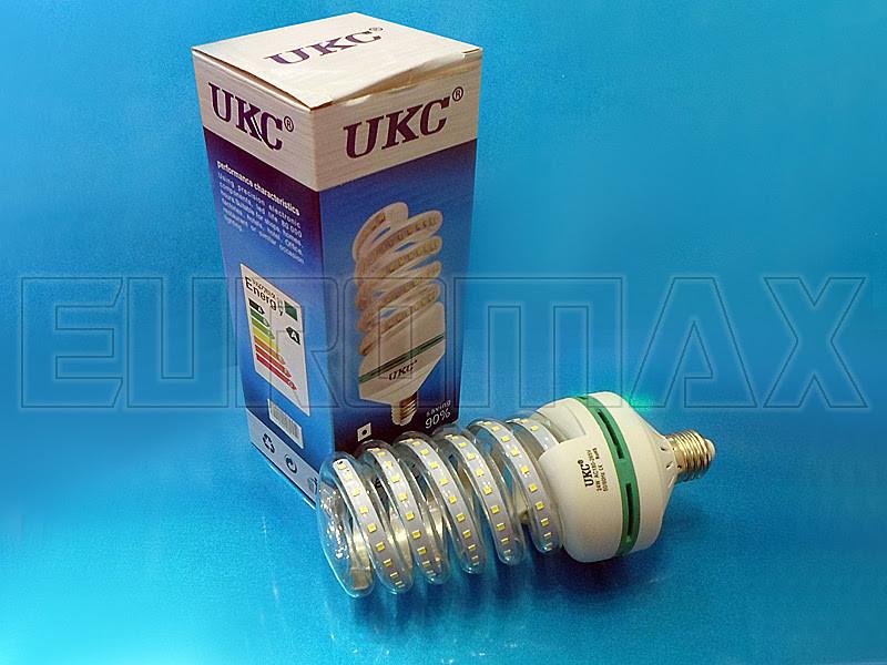 Лампочка LED E27 24W спиральная 4026